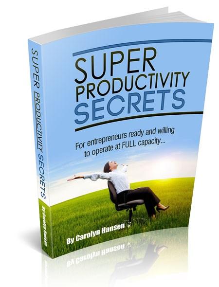 super productivity secrets cover medium